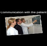 Communication with the patient